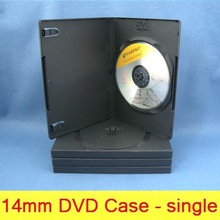 china 14mm black pp single/double dvd case/funny wallet