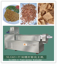 High quality low consumption defatted concentrated amazing soya steak protein making machine
