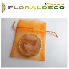 Wholesale colorful gift and jewelry organza pouch organza bag