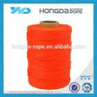 braided nylon line ,nylon grass trimmer , red nylon braided rope