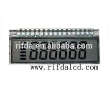 China Character circular lcd display For Energy Meter LCD
