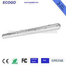5ft 70W ip65 3 years warranty t8 waterproof fluorescent light fixtures ip65