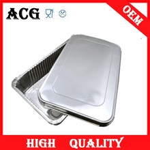 color full size aluminium foil container for packaging
