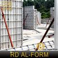 ° ponteggio regolabile per il pannello di alluminio