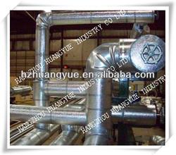 2-PC Reusable 45/90/T Degree Aluminum Pipe Cladding Material
