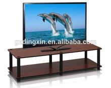 PB / MDF Melamine Board Modern Television Stands Cherry Wooden Furniture (DX-BB20)