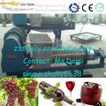 Uva máquina de esmagamento/uva e triturador de esmagamento da máquina