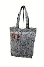 reusable canvas tote shopping bag 2014 bag