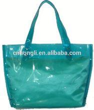 colorful pvc tote shopping bag 2014 bag