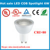 OEM&ODM available CE Rohs 2700-6500K 80Ra Epistar 6w cob led lamp mr16 GU10