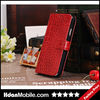 Beauty Accessories Crocodile Mobile Purse For Samsung Galaxy S4 Vintage Phone Cover