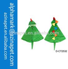 2014 lurury cape for kids / Children lovely dinosaur cape