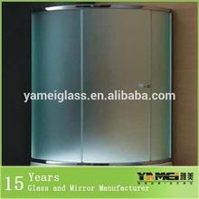 Hot sale!!solid frosted glass bedroom door