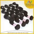 excepcional calidad dyeable grado superior 18 pulgadas peruana armadura del pelo