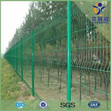 curved wire mesh fence,tie wire galvanized welded wire mesh fence,bridge security fence wire mesh