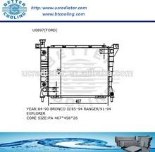 Auto Radiator For FORD BRONCO/RANGER/EXPLORE/LIGHT TRUCK 4.0L V6 MT OEM:F07H8005DA F07H8005EA F07HEA F0TZ8005J/K F0TZCA FOTZJ