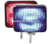 guardrail reflector 3*6 18 led warning blinking strobe flash lights small led light