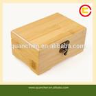 Antique Superb Bamboo Nail Polish Storage Case