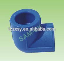 PPR elbow 25mm Blue color