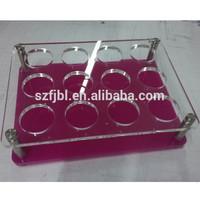 Customized Wholesale acrylic wine bottle display case
