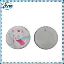 Children plastic pin button badge