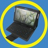 2014 silicone Bluetooth Keyboard For android sumsung galaxy note P7500 P5100 tablet PC