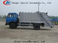 compactador de lixo coleta caminhão 10 m3 de capacidade