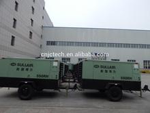 Sullair portable rotary screw compressors