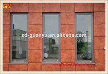 Golden mirror ACP/ACM, aluminum extrusion profile, aluminum composite panel