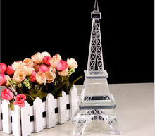 Crystal Eiffel Tower Corporate gift,Souvenir Promotion gift model craft Eiffel Tower