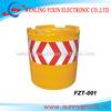 road fence barrier FZT-001 Rotational safety crash bucket