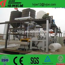 fully automation plaster block plant/gypsum block/brick making machine