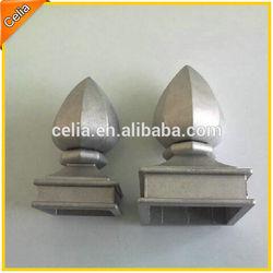 """2"""", 2.5"""" ornamental aluminum post top"""