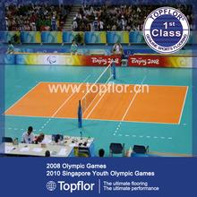 High quality popular eco-friendly interlocking portable volleyball court sports flooring
