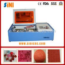 SIN-40U price for rubber mini CO2 USB laser engraving
