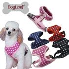 Hot Sale Breathable Fashion Stars Design Mesh Dog Harness Pet Vest Harness