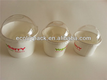 Wholesale custom paper cup ice cream