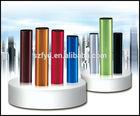 Available 1800mah/2200mah/2500mah/2600mah colorful lipstick power bank as for promotion gift .