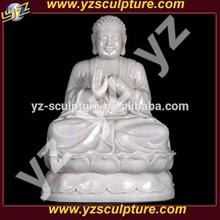 white marble stone carving buddha STUN-C025