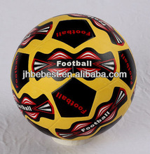Bebest Hungriness 2014 china yiwu god is great logo red white color size 5 rubber soccer rubber football rubber ball