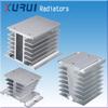 miniature heat sink / aluminum ssr heat sink / aluminium led heat sink radiator