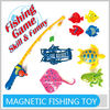 Funny Plastic Magnetic Fishing Game Toys for Kids