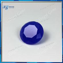 8mm beautiful jewelry making voilet round decorative glass stone