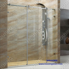 contemporary and best selling and special tempered glass shower room designed for your hotel