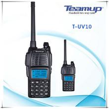 T-UV10 push to talk wireless 2 way communication