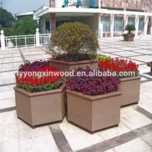 most popular in European wood plastic flower boxes, wpc flower pots