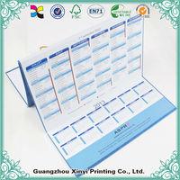 Wholesale Custom Printing Desk Flip 2014 Monthly Desktop Calendar