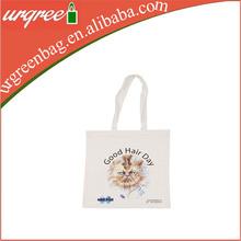Plain White Cotton Plain Canvas Tote Bag