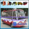 Mini-bus type mobile kitchen truck 0086 13676916563