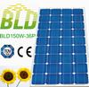Customized solar panel 100w monocrystalline solar panel made in china